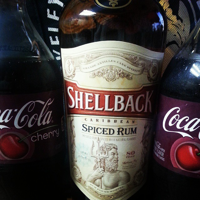 Rum and coke for this sailor shellback usn navy rum for White rum with coke