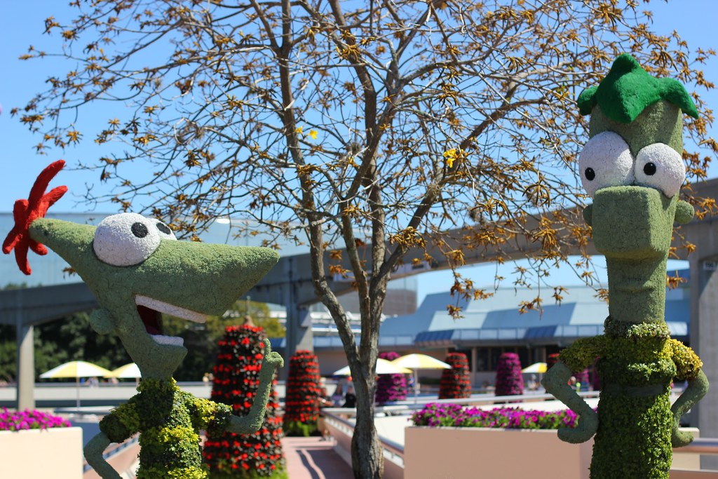 Epcot Flower And Garden Festival Food Booths