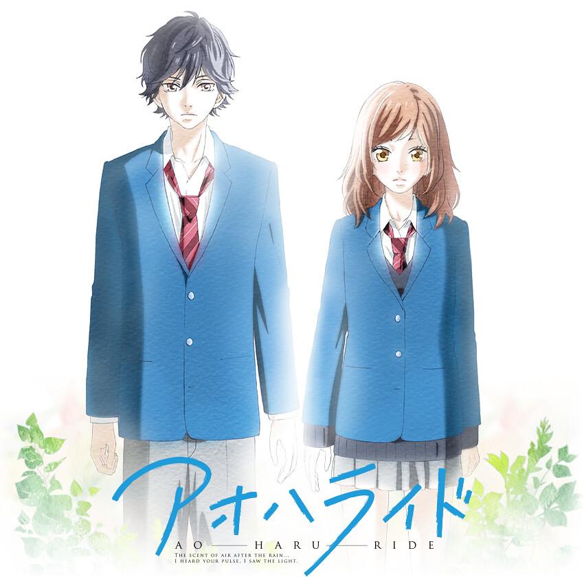 140313(3) - 校園戀愛漫畫《閃爍的青春 AO-HARU-RIDE》宣布7月放送動畫版、12月上映真人電影版!