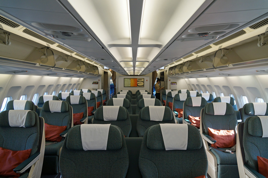 Cathay Pacific Regional Business Class Cabin The