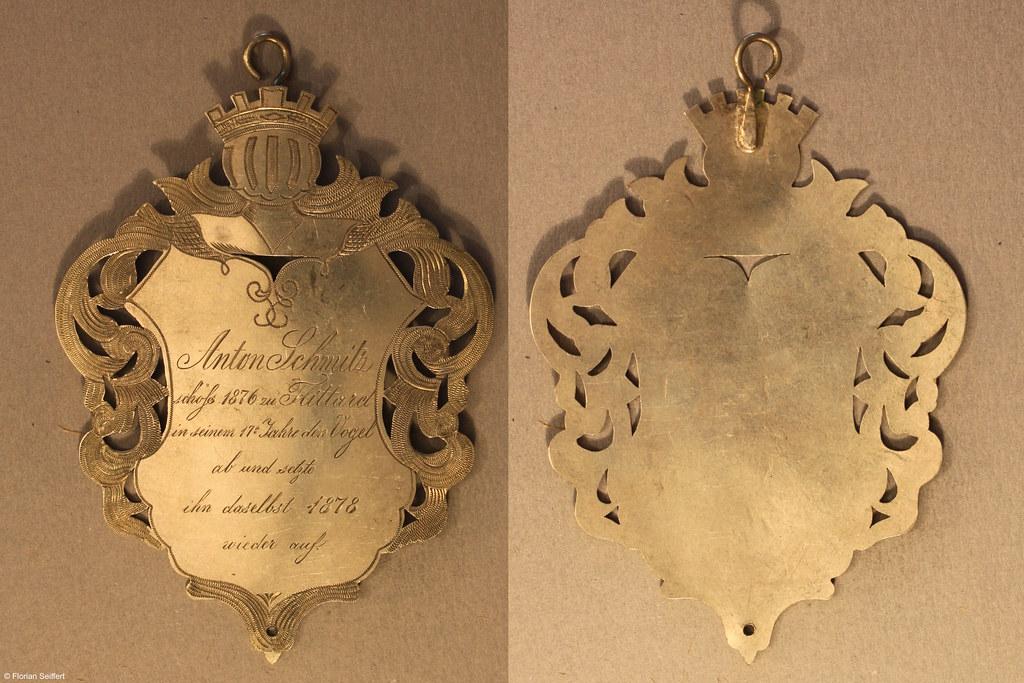 Koenigsschild Flittard von schmitz anton aus dem Jahr 1876