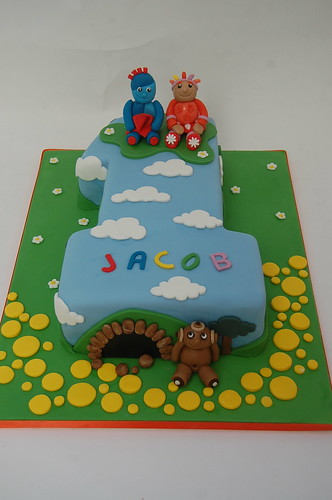 Number One in the Night Garden Cake - Beautiful Birthday Cakes