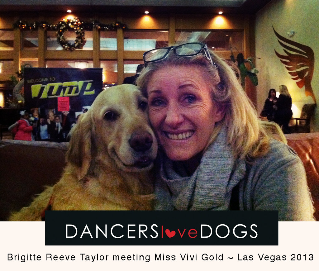 Dancers love dogs visit las vegas to meet vivi founder for Dog days las vegas