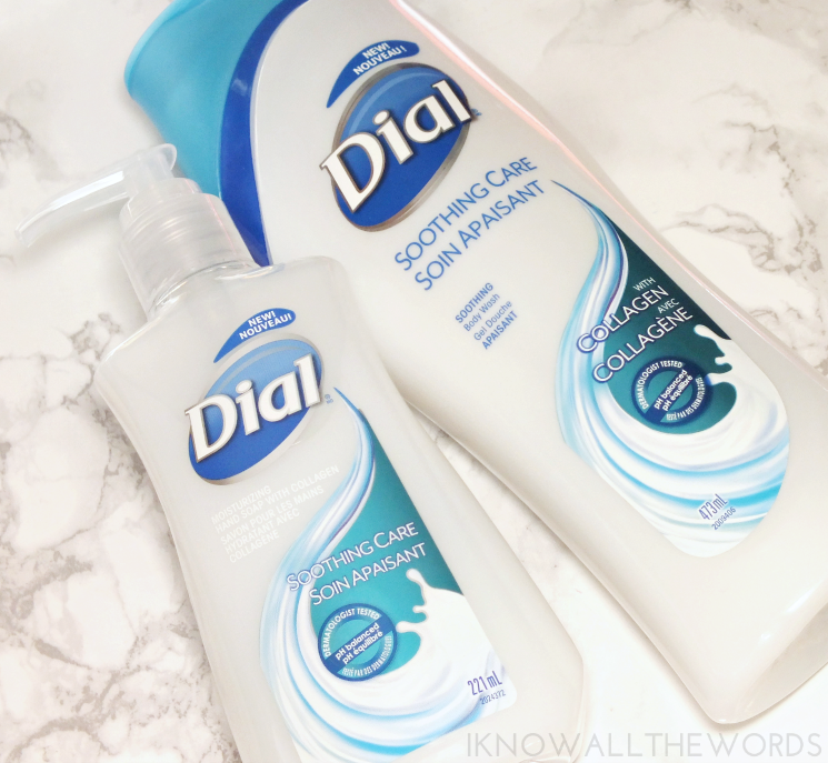 dial soothing care with collagen body wash and hand soap (1)