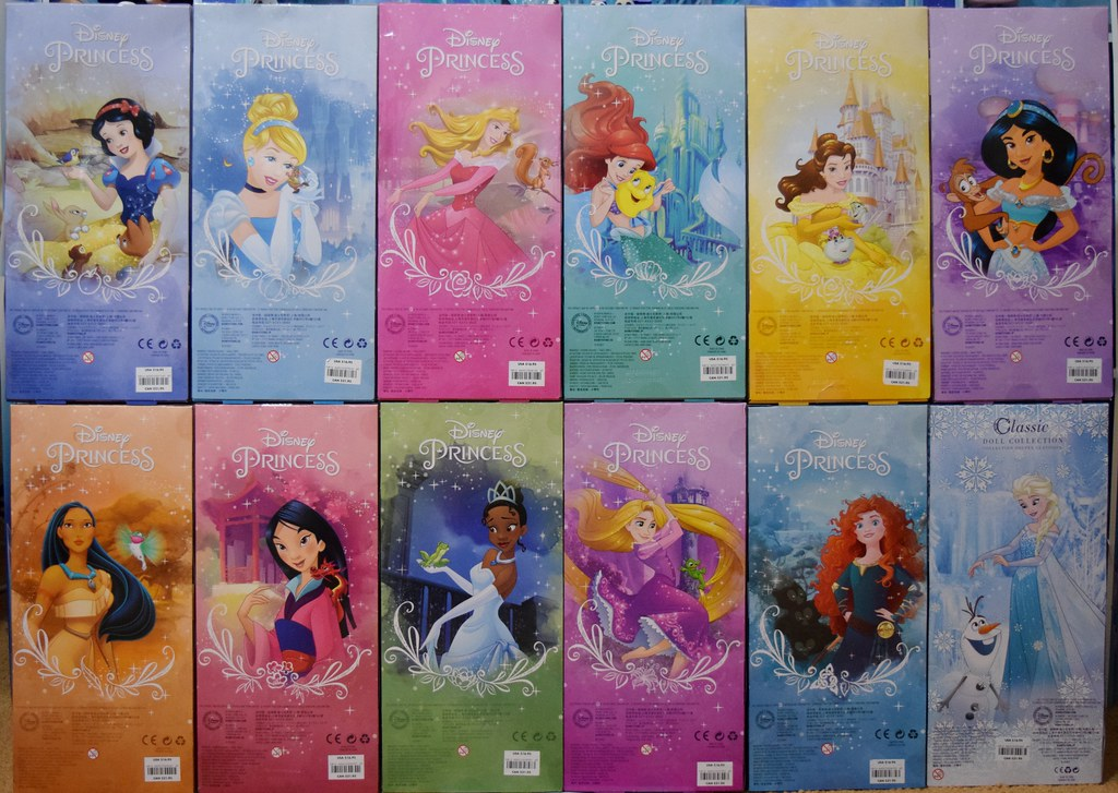2016 Disney Princess Classic 12 Dolls Us Disney Store