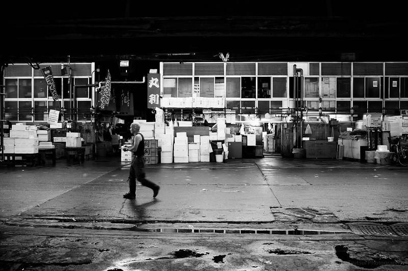 築地中央卸売市場 Tsukiji Tokyo Wholesale Market