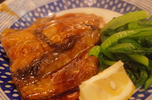 teriyaki Spanish mackerel サワラ