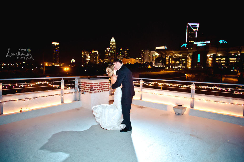 A Kiss On Top Of The World Roof With A View Charlotte Nc