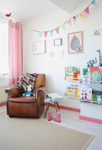 Reading Corner Living Room