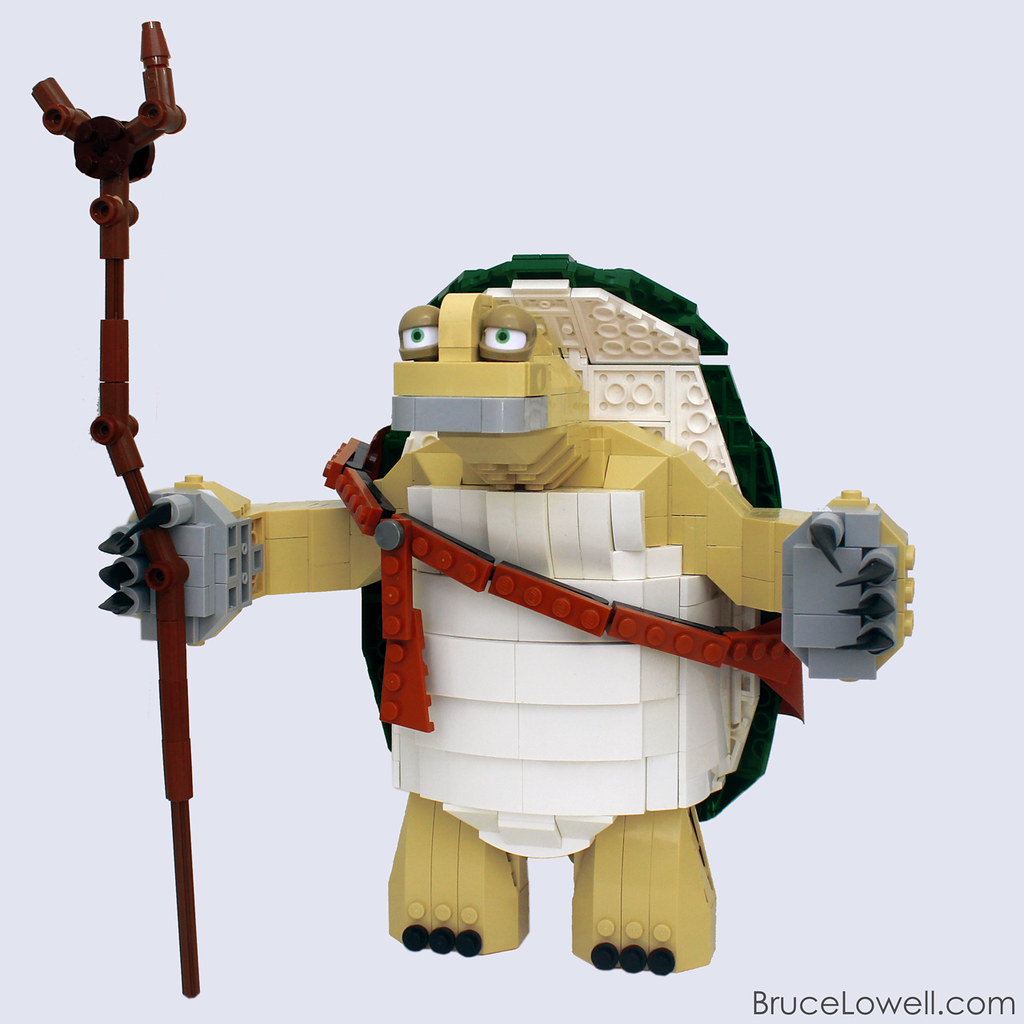 LEGO Master Oogway  Oogway is the creator of kung fu and ma…  Flickr