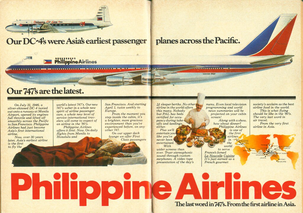 Philippine Airlines Ad Reader S Digest January 1980 Flickr