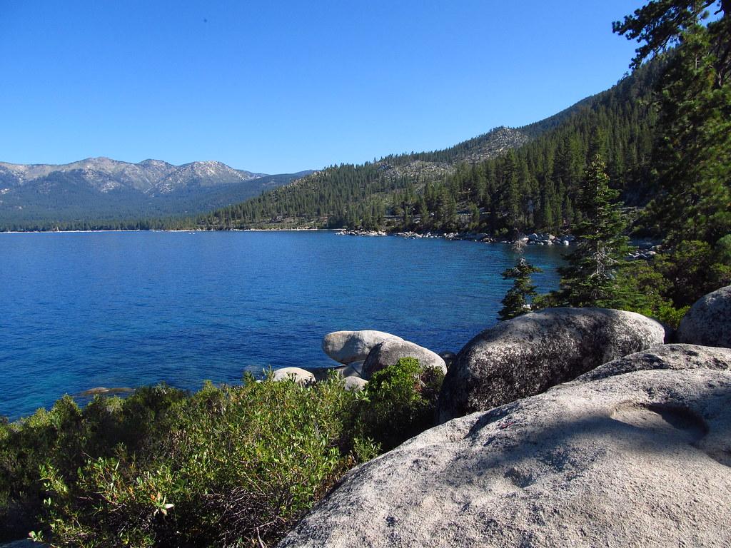 Lake Tahoe Nevada Lake Tahoe State Park Viewpoint Along