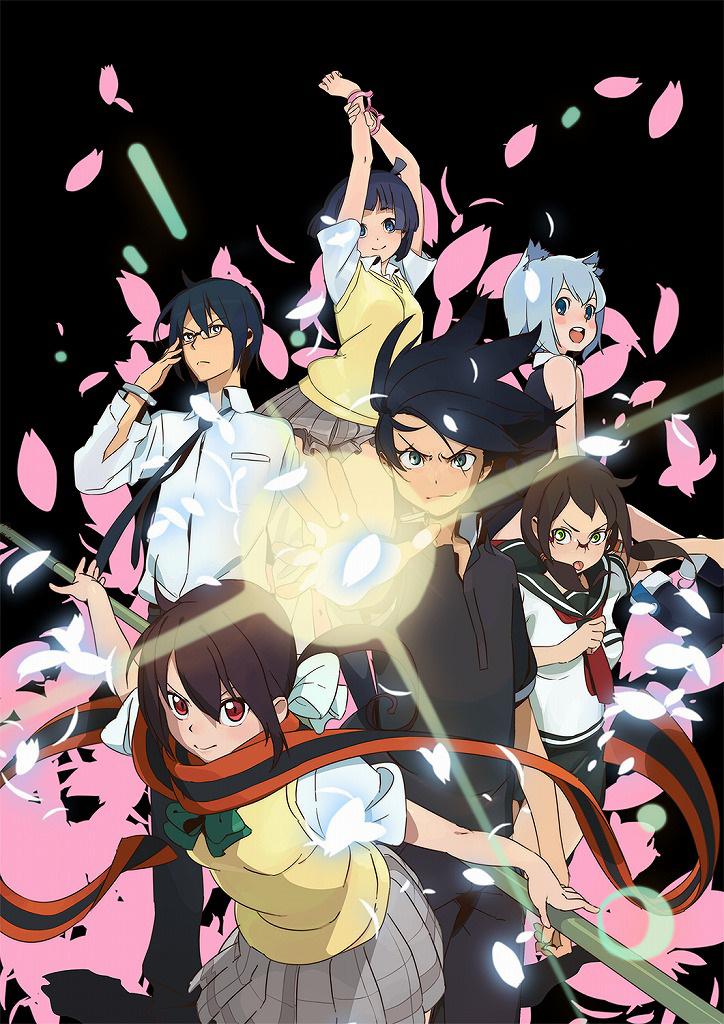 130830(1) - 動畫續集《夜桜四重奏 〜ハナノウタ〜》將在10/6開播、第二批「六角」等聲優陣容出爐!