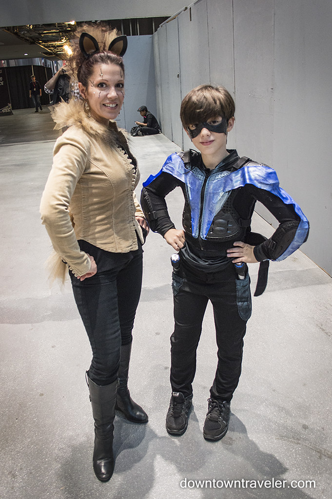 Nightwing Costume For Kids NY Comic Con Kids Cost...