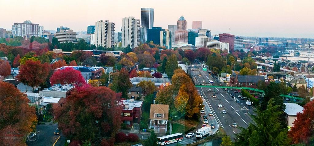 Fall in downtown portland oregon portland oregon fall - Camera world portland ...