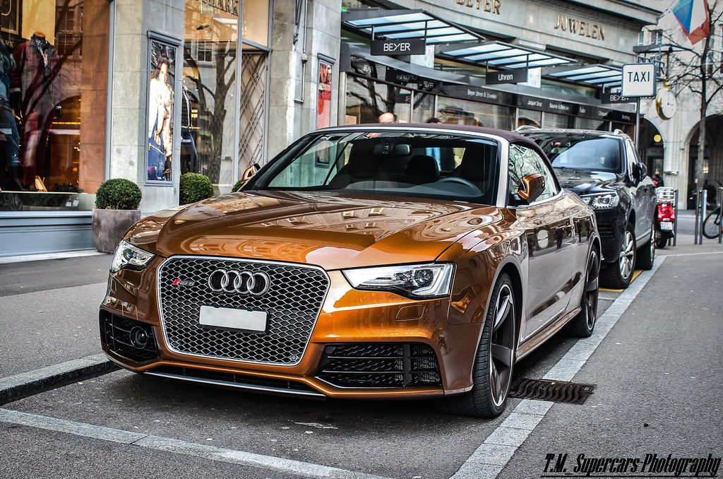 Audi Rs5 Convertible Ipanema Brown Look At My Page On