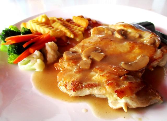 Warung BM mushroom chicken 1