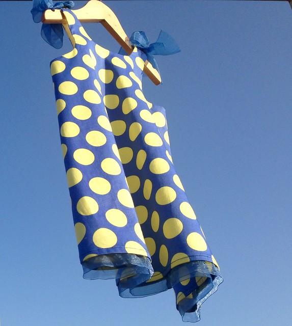 Vestidos fresquitos para el verano #lunares #polkadots #ropadeniñas#girlsdress