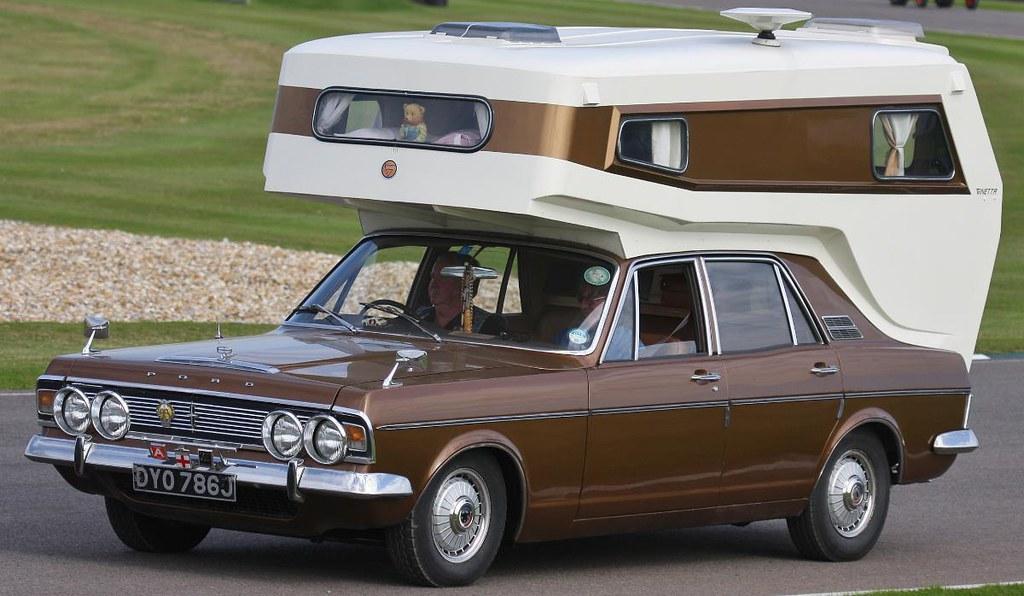 Mk Iv Ford Zodiac With Ginetta Camper Body Mk Iv Ford