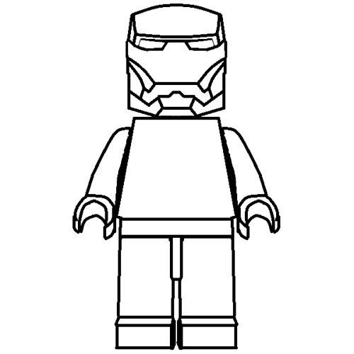 lego man worker coloring pages | [LEGO] Iron Man ARMOR for DRAWING !!! | Flickr - Photo ...