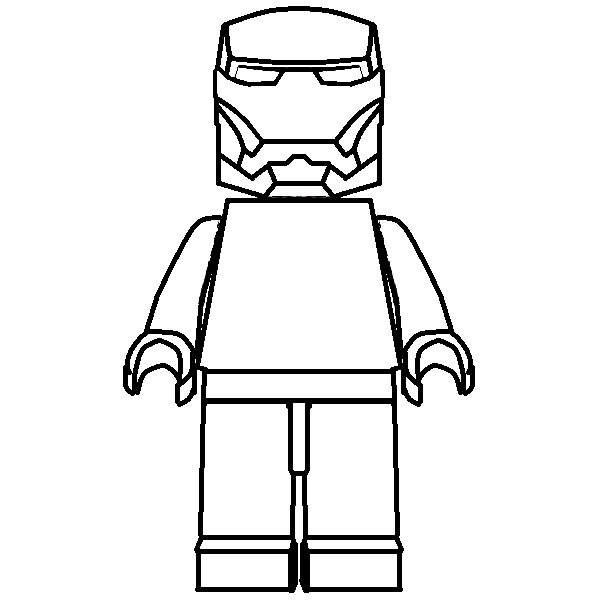 [LEGO] Iron Man ARMOR for DRAWING !!! | Victor Vincent ...