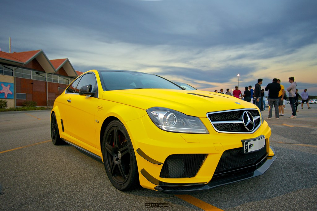 Mercedes Benz C63 Amg Black Series Fitted With The Amg