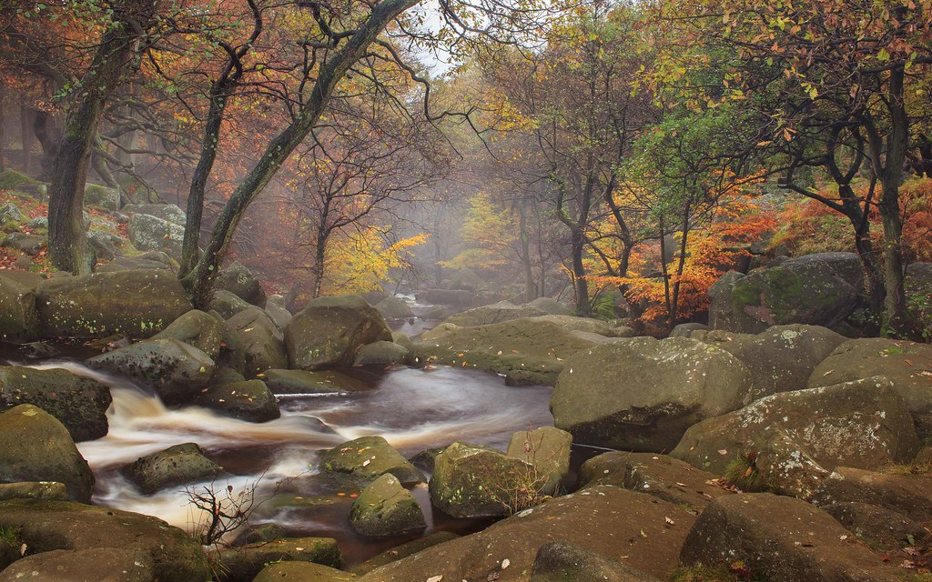 Padley Gorge Padley Gorge Peak District Np Uk James