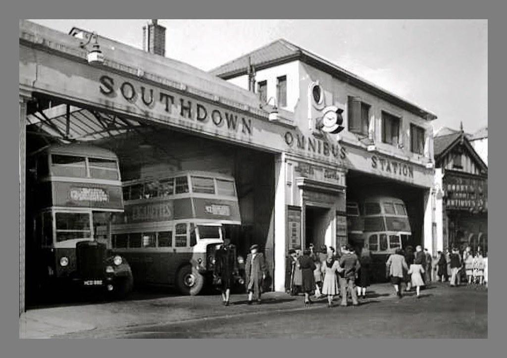 Eastbourne Past Southdown Bus Depot Pevensey Road Flickr