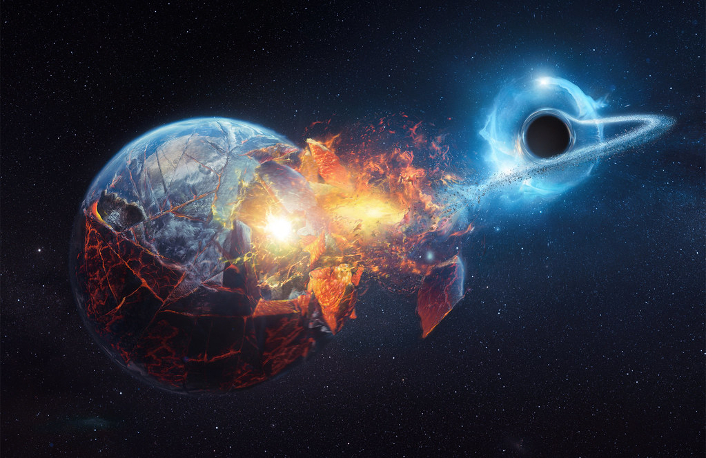 Black hole passing by Earth | Time for another ...