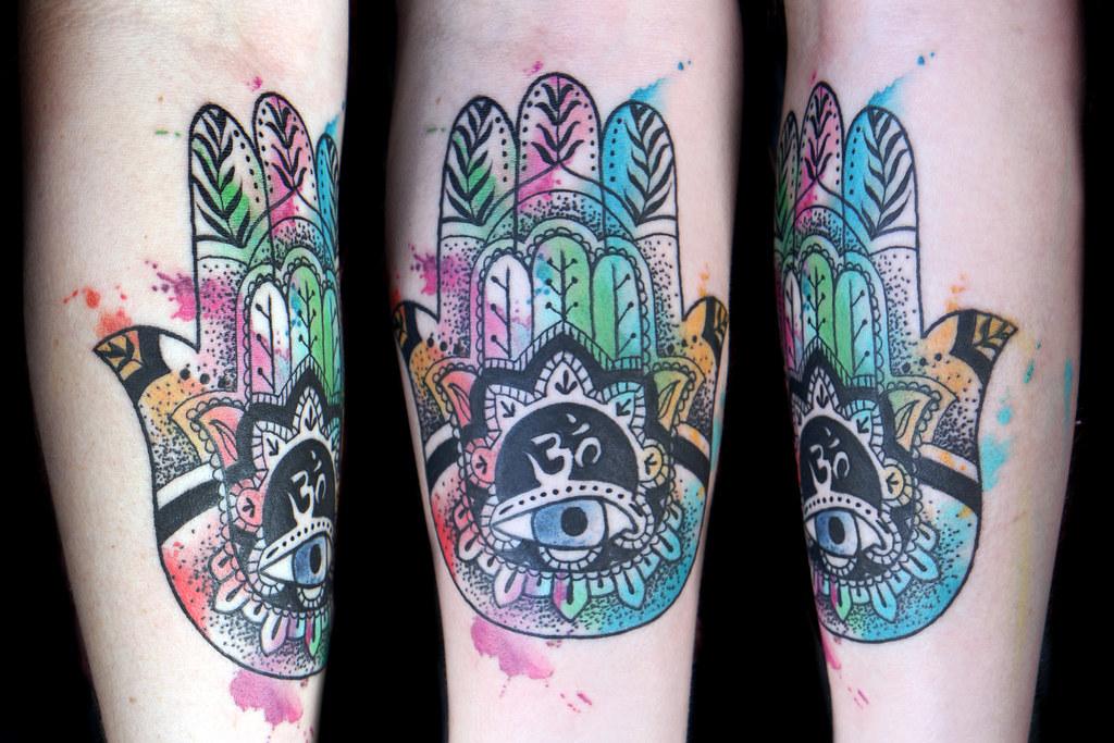 Tattoo Hamsa Mandala Eye Designs