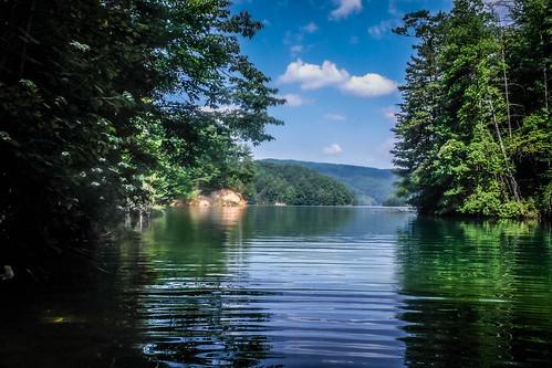 Lake Jocassee Kayaking-96
