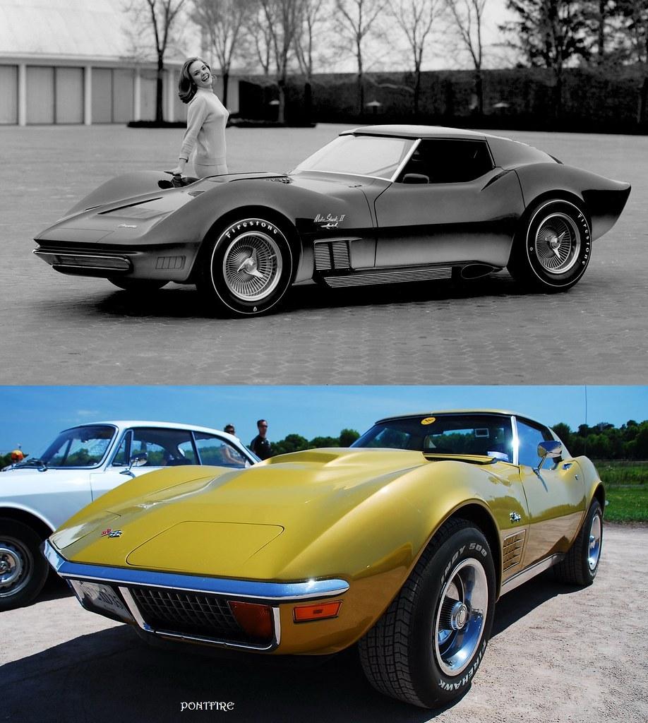 1965 Mako Shark Ii Xp 830 Corvette Stingray Designed