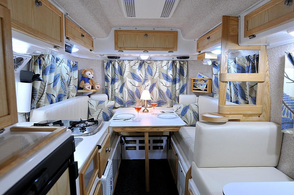 Casita Interior January 2014 39 Vanilla 39 Marine Vinyl Upho Flickr