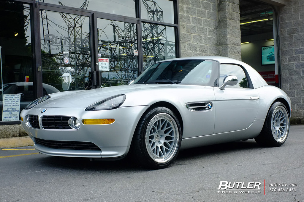 **BMW Z8** With HRE Classic 300 Wheels