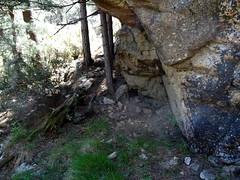 Dans la descente vers l'extrémité de la piste de Vignale