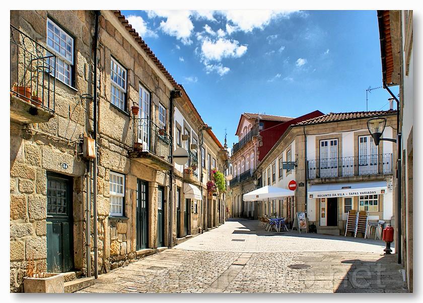 Rua de vila nova de cerveira vila nova de cerveira - Vilanova de cerveira ...