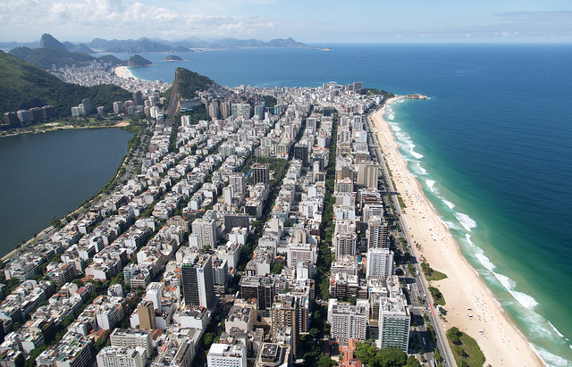 Vista A 233 Rea Da Zona Sul Da Cidade Do Rio De Janeiro Rio
