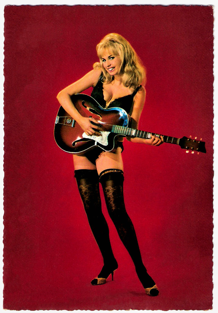 Jayne mansfield in lingerie and nylons recolored - 5 10