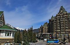 Banff Springs Hotel & Peaks
