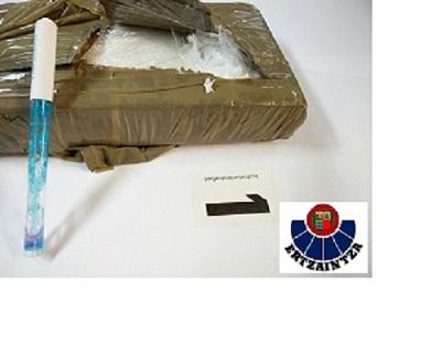 Cuatro detenidos e incautado un kilo de cocaína