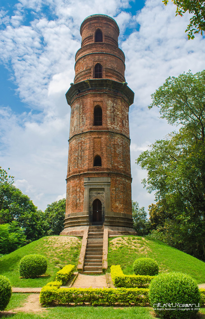 Firoz Minar ; Gour | A kilometre away from the Dakhil ...