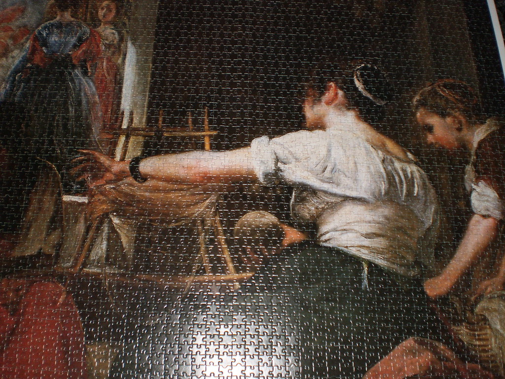 Las hilanderas by Diego Velazquez-Educa-10000 pieces | Flickr