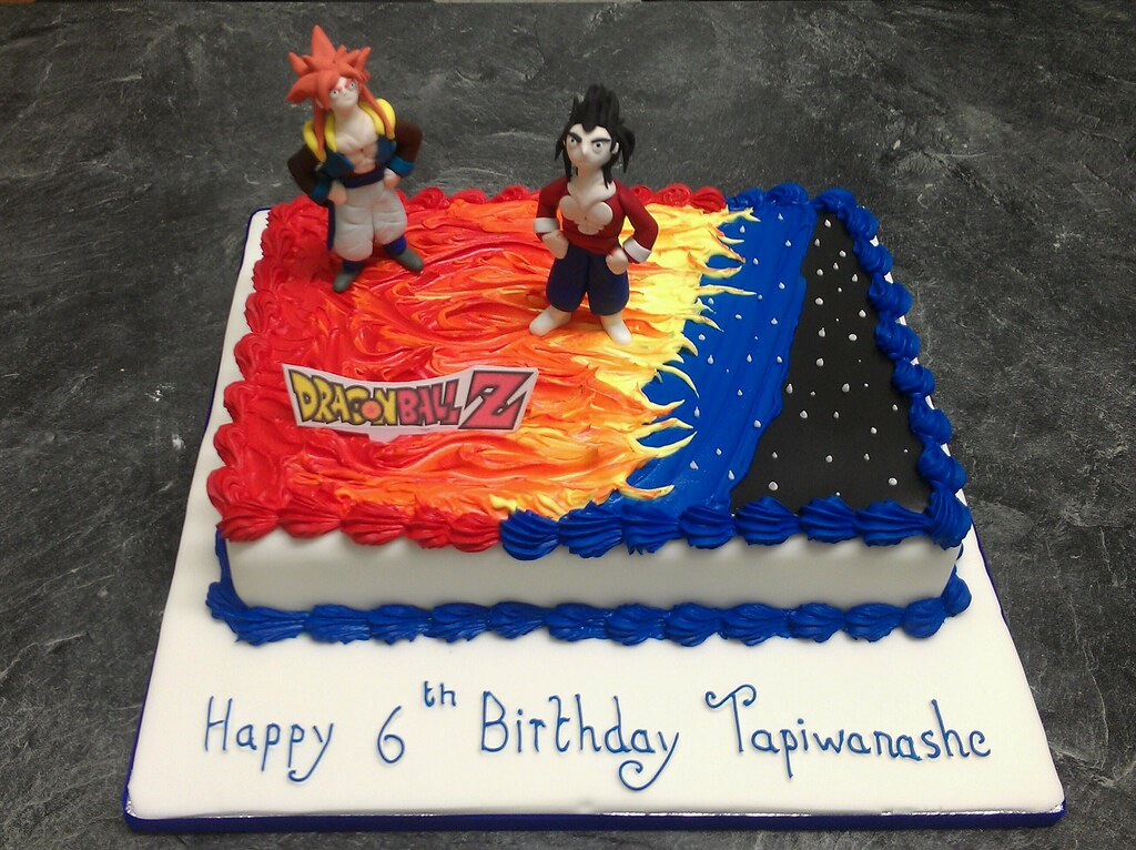 dragonball z cake amayesing cakes Flickr