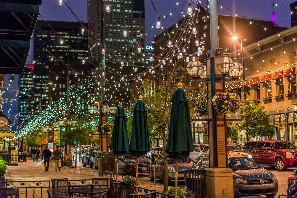 Larimer Square at Night | Geoff Livingston | Flickr
