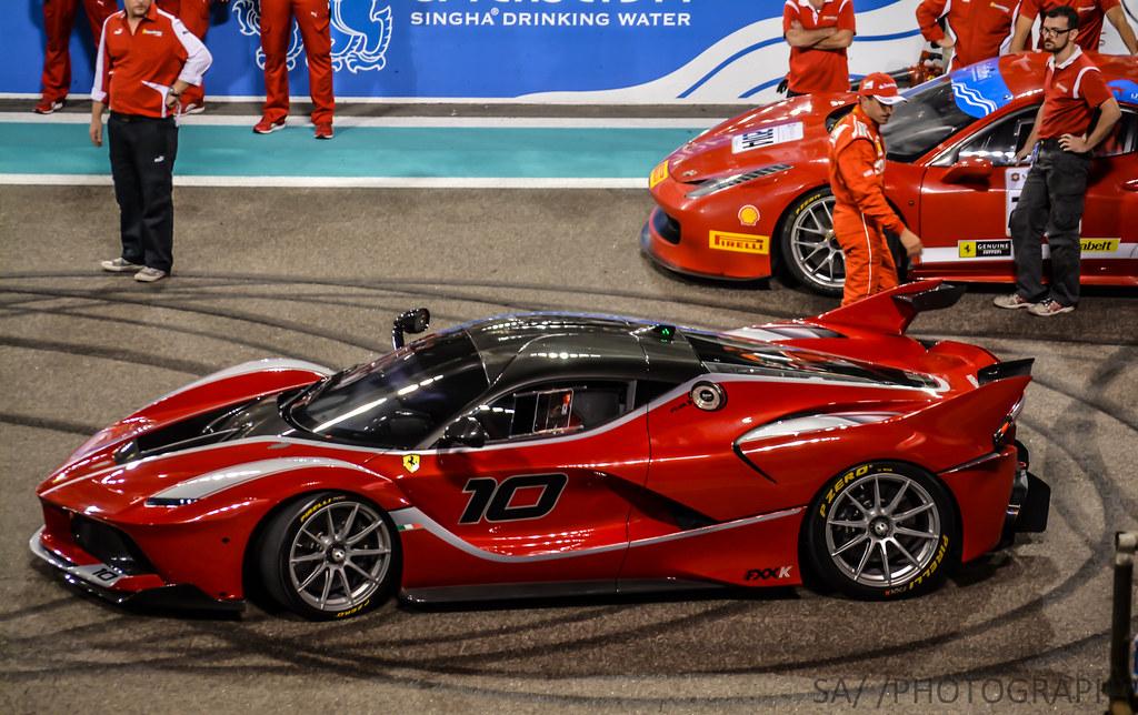Ferrari Fxxk Yas Marina Circuit Abu Dhabi Saad Arif