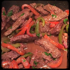 #CucinaDelloZio - #Homemade Steak'n'Peppers in Red #Wine
