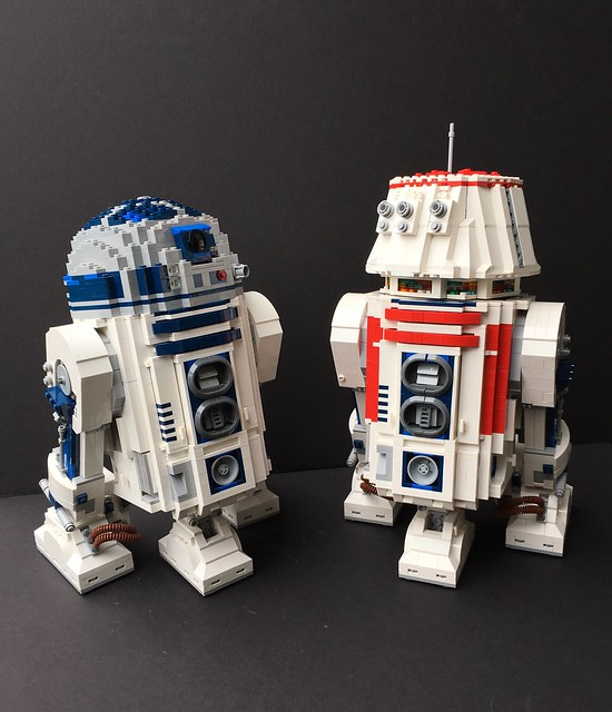 Ucs R2 D2 Modification To R5 D4 Lego Star Wars Eurobricks Forums