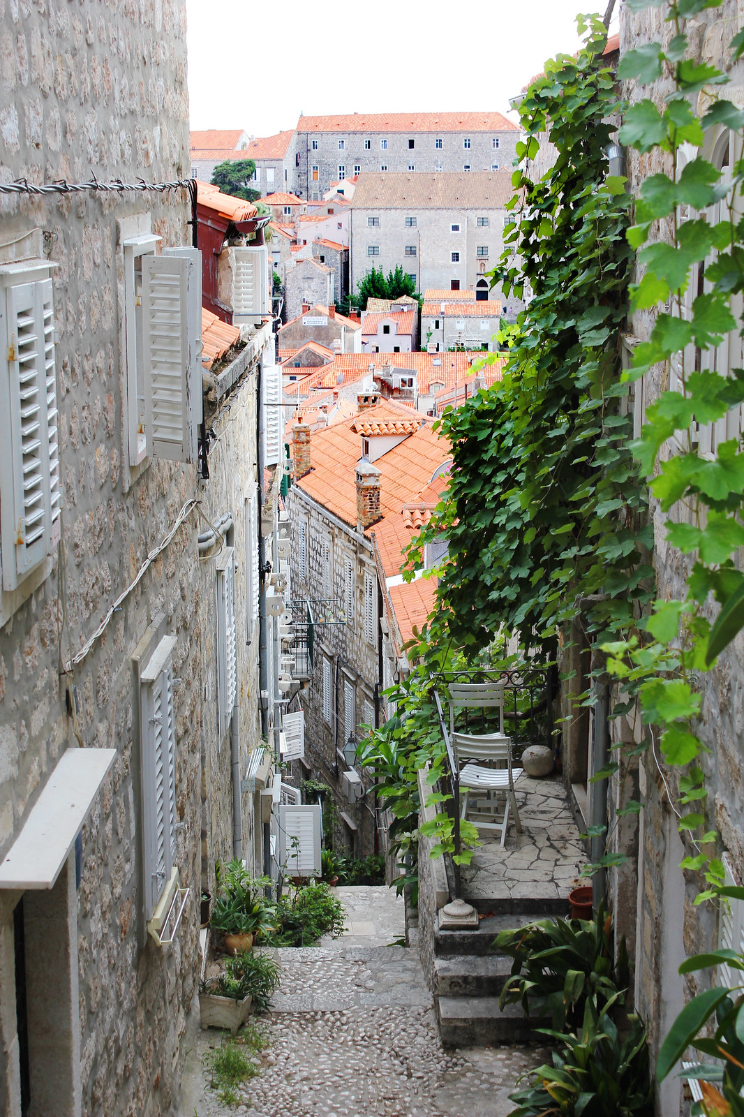 Dubrovnik Croatia old town streets