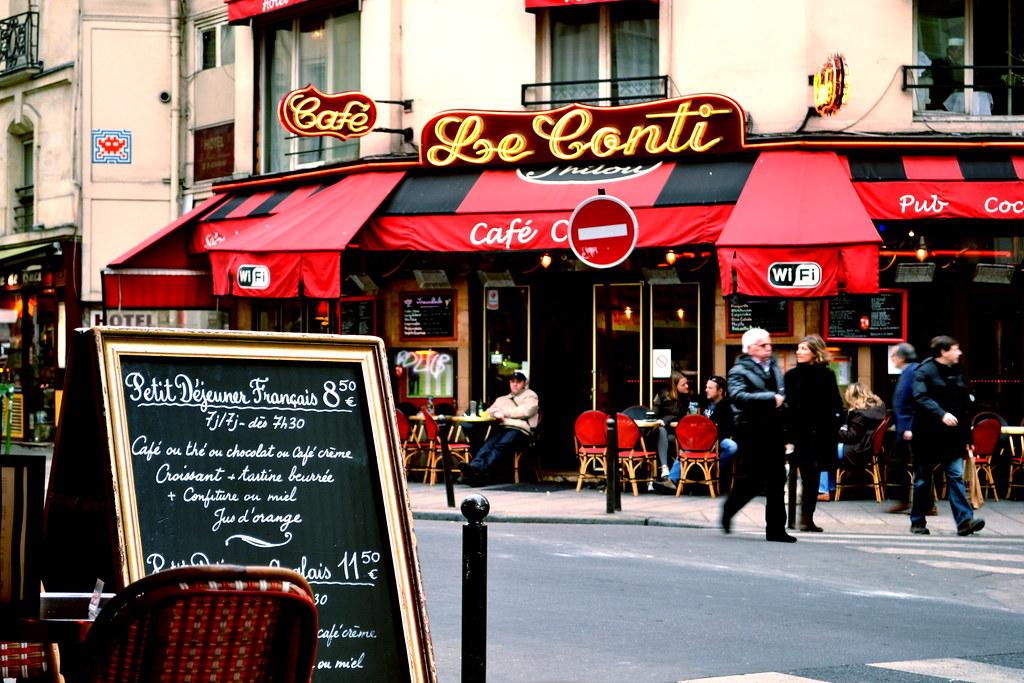 Cafe Le Conti Paris Er