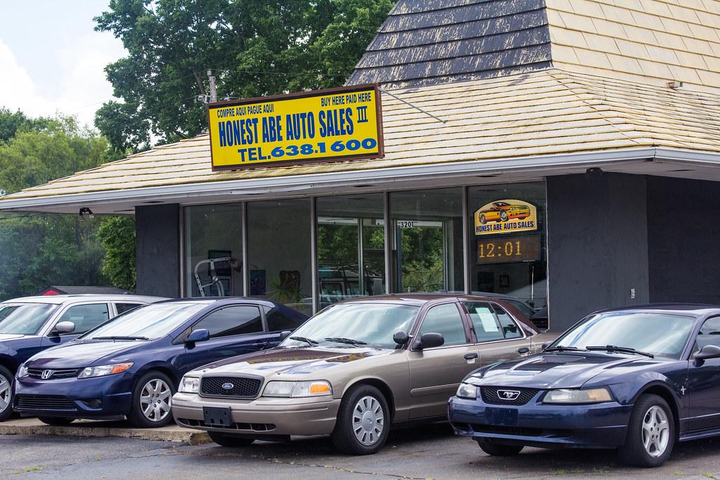 honest abe auto sales iii speedway in bill flickr. Black Bedroom Furniture Sets. Home Design Ideas